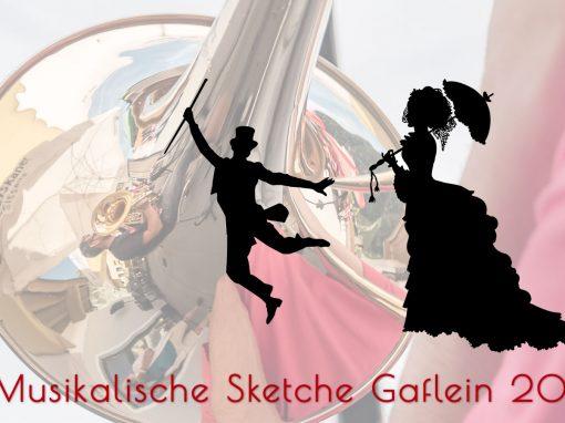 12. Juni 2018 Erste Probe im Gaflein